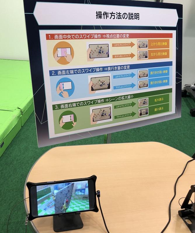 インテグラル3DCG映像のリアルタイム生成技術携帯