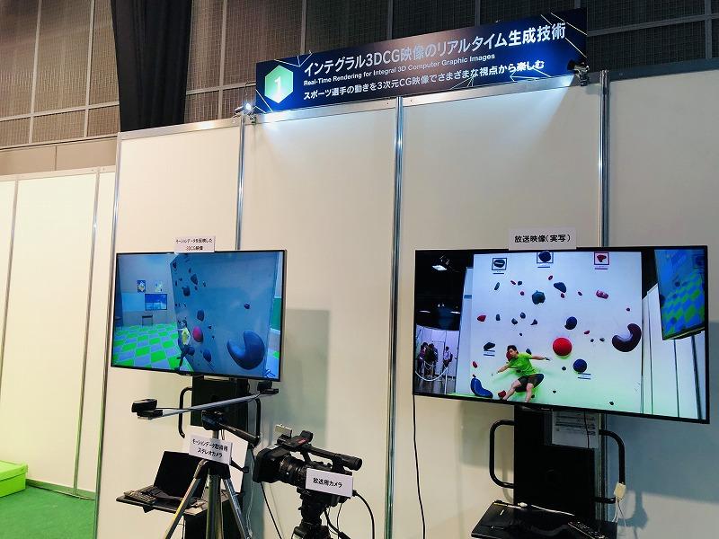 インテグラル3DCG映像のリアルタイム生成技術