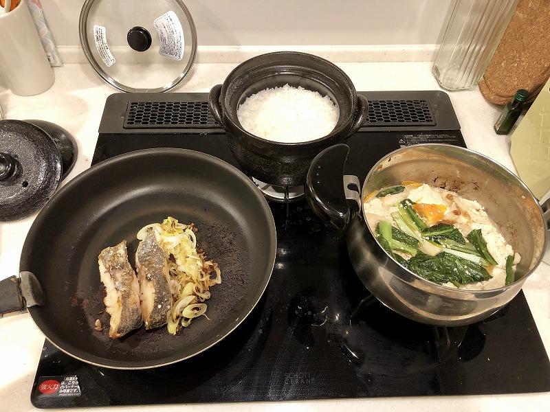 白身魚のねぎポン酢焼き