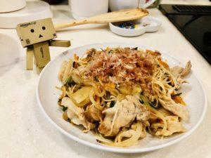 【ビーフンレシピ】野菜たっぷり焼きビーフンの作り方【週末料理男子レシピ】