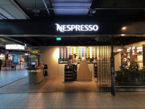 スキポール空港ネスプレッソ