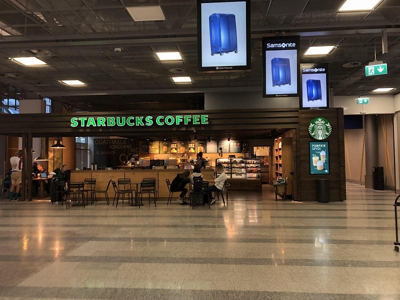 ヘルシンキ空港スタバ