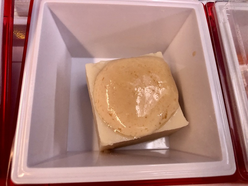 豆腐クリームの胡麻豆腐