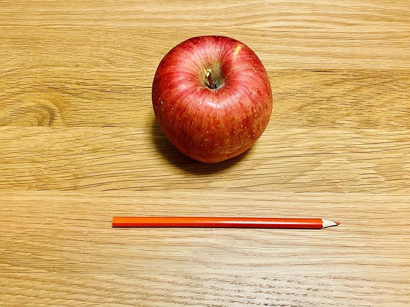 アップルとペンシル
