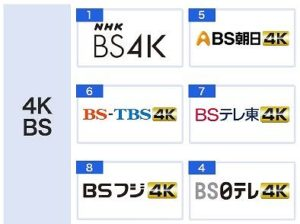 4KBS放送ラインナップ