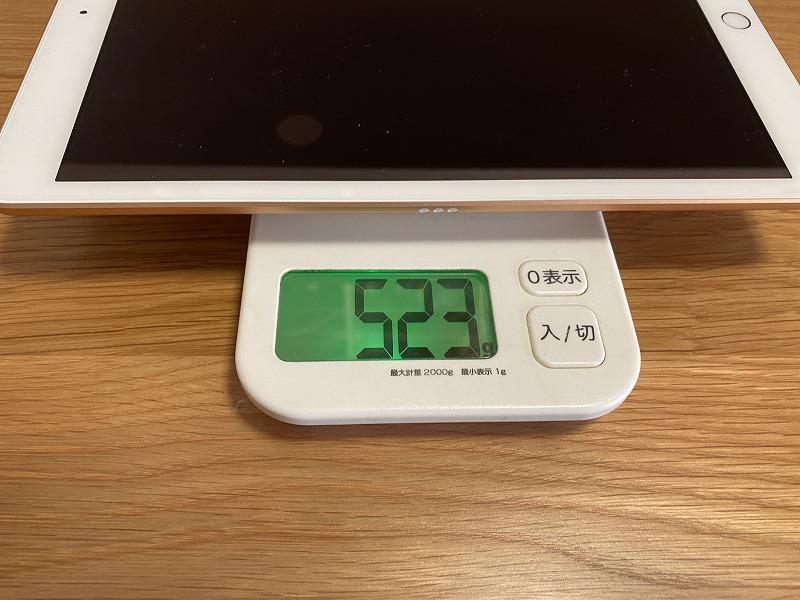 iPad第7世代重さ
