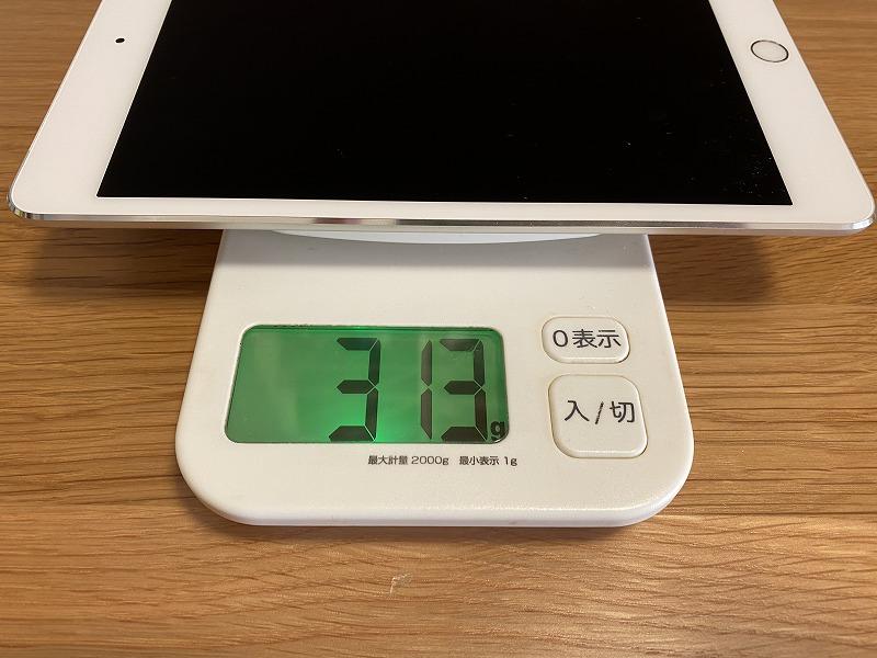 iPadmini第4世代重さ