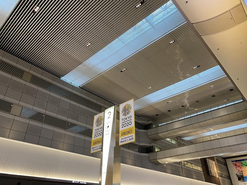 羽田国内線第一旅客ターミナルの出発ロビー南時計台2