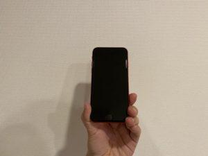 iPhoneSEレッド表
