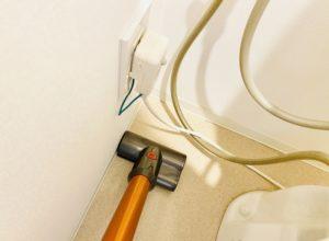 ミニモーターヘッド使用例トイレ