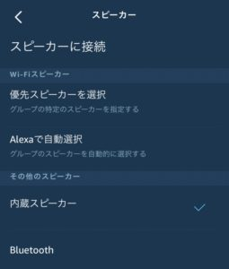 Echo Flex内蔵スピーカー