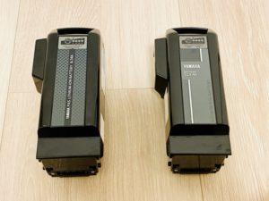 8.7Ahバッテリーと12.3Ahバッテリーの比較