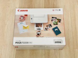 【Canon TS3330レビュー】MG7730からプリンターを買い替え!コスパ・使い勝手はどんな感じ?(1万円以...