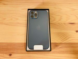 iPhone12Pro開封