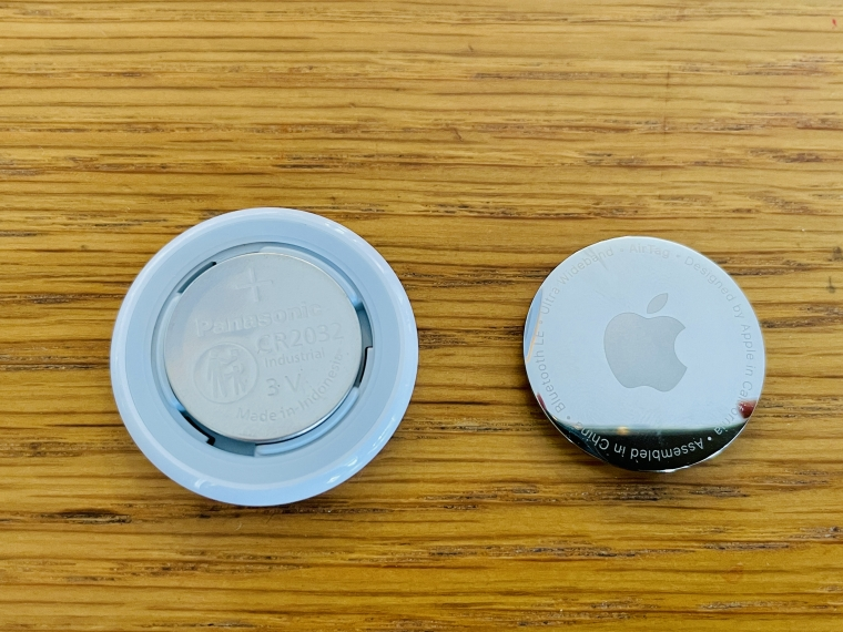 AirTagの電池
